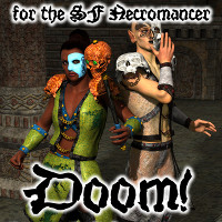 Doom!  for the Unearthly Realms Necromancer  fuseling