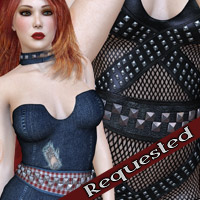 Defiant - Mistress Collection II Dalia 3D Models 3D Figure Assets kaleya