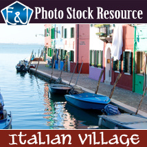 Italian Village 2D And/Or Merchant Resources Stock Photography Themed EmmaAndJordi
