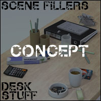 Scene Fillers - Desk Stuff image 1