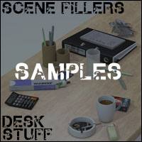 Scene Fillers - Desk Stuff image 3