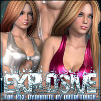 Explosive for X13: Dynamite 3D Models 3D Figure Essentials ShanasSoulmate
