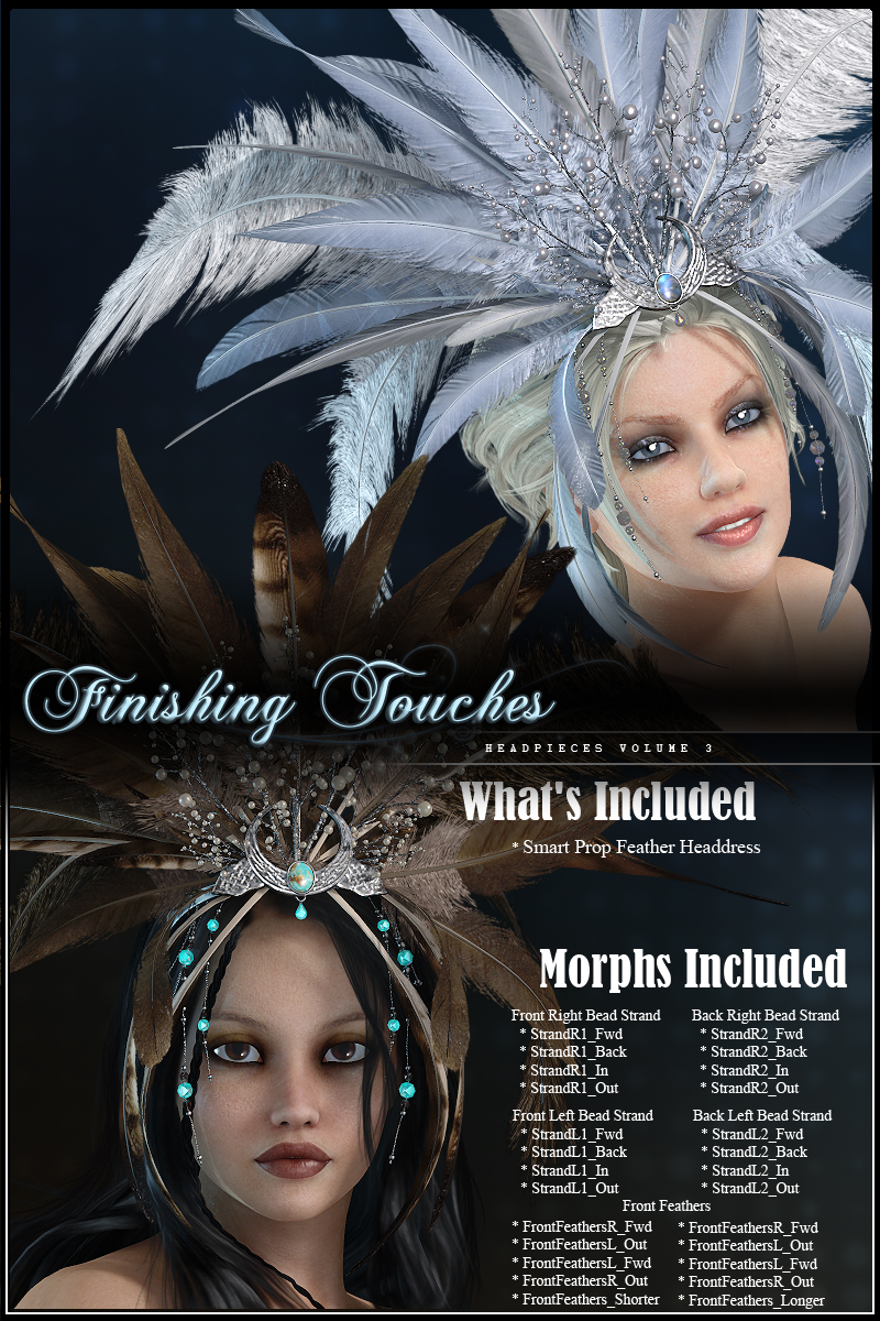 Finishing Touches: Headpieces Volume 3byryverthorn()