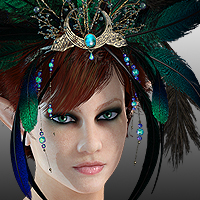 Finishing Touches: Headpieces Volume 3 3D Models 3D Figure Essentials ryverthorn