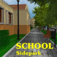 School Side Park Props/Scenes/Architecture Themed greenpots