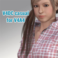 V4DC casual for V4A4 3D Figure Essentials kobamax
