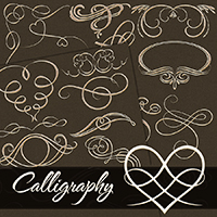 PB - Calligraphy 2D Graphics Atenais