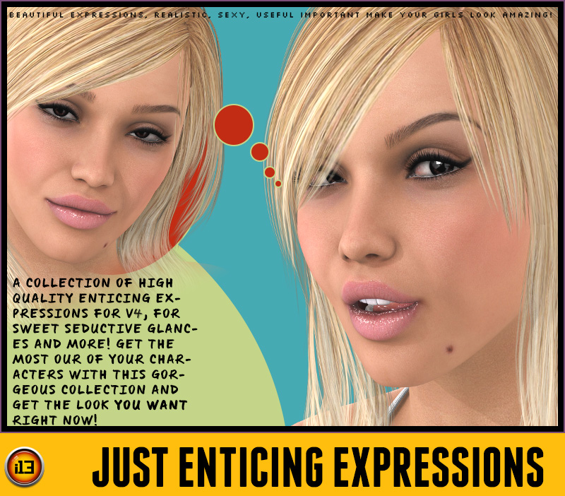 i13 Just Enticing EXPRESSIONS for V4
