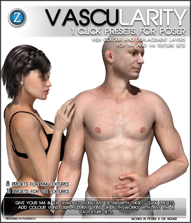 Vascularity For Poser