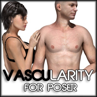 Vascularity For Poser 2D Zev0