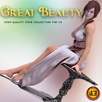 i13 Great Beauty Pose Collection and Prop Props/Scenes/Architecture Poses/Expressions Themed ironman13