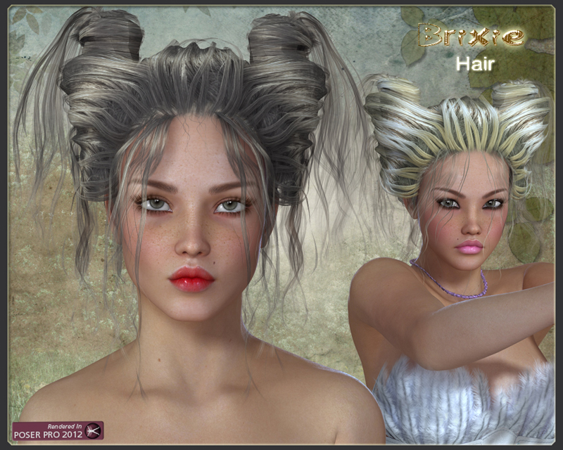 Brixie Hair for V4