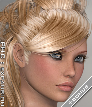 PHC: StoryBrook Hair Themed Hair P3D-Art