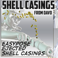 Shell Casings 3D Models 3Diotic