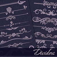 PB - Dividers 2D Graphics Atenais