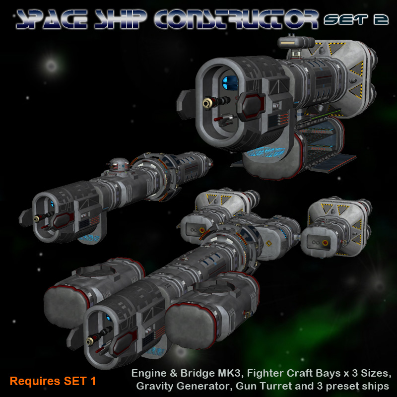 Space Ship Constructor Set 2