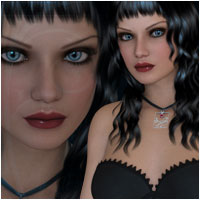 MaryBelle for Victoria 4.2 & Genesis Software Characters Artemis