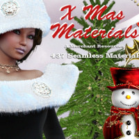 x-mas 2012 materials Themed Materials/Shaders 2D And/Or Merchant Resources WhopperNnoonWalker-