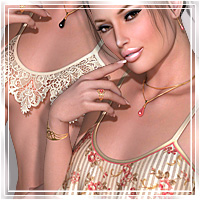 Temptation for Crazy Belle IV Clothing Themed Romantic-3D