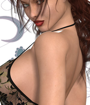 My Style 9 - Sexy Top VIII 3D Figure Assets nirvy