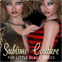 NYC Couture CasualSeries LBD Clothing Themed 3DSublimeProductions
