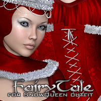 FairyTale for SnowQueen Themed Clothing P3D-Art