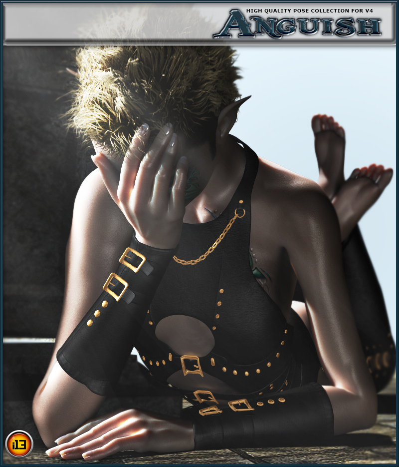 i13 emotions ANGUISH POSE COLLECTION for v4