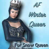 AF Winter Queen 3D Figure Essentials Angelsfury2004