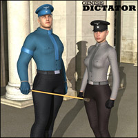 Genesis Dictator 3D Figure Essentials Oskarsson