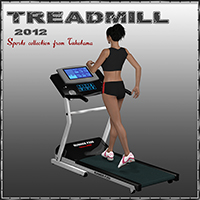 Treadmill 3D Figure Essentials 3D Models tuketama
