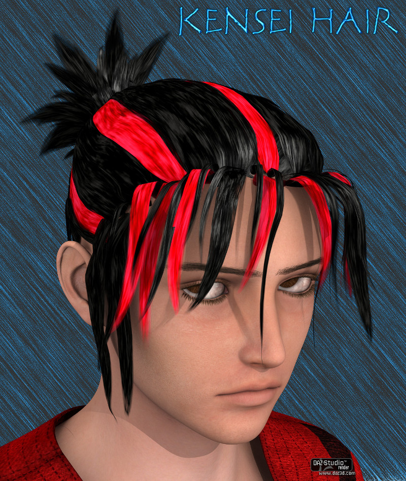 SF Kensei Hair