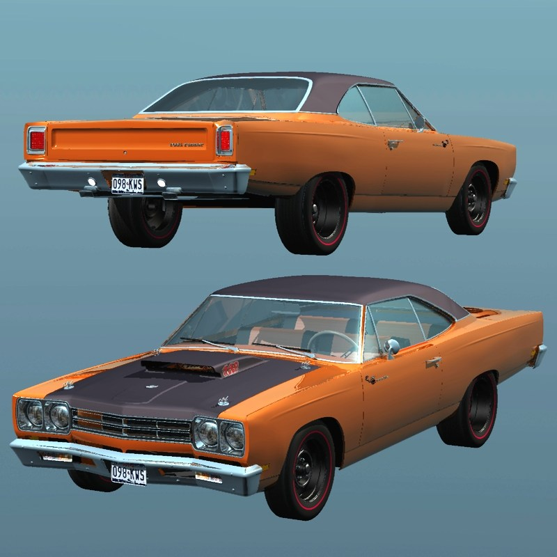 PLYMOUTH ROADRUNNER 1969 for VUE