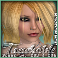 Touchable Hr-089 Hair Themed -Wolfie-