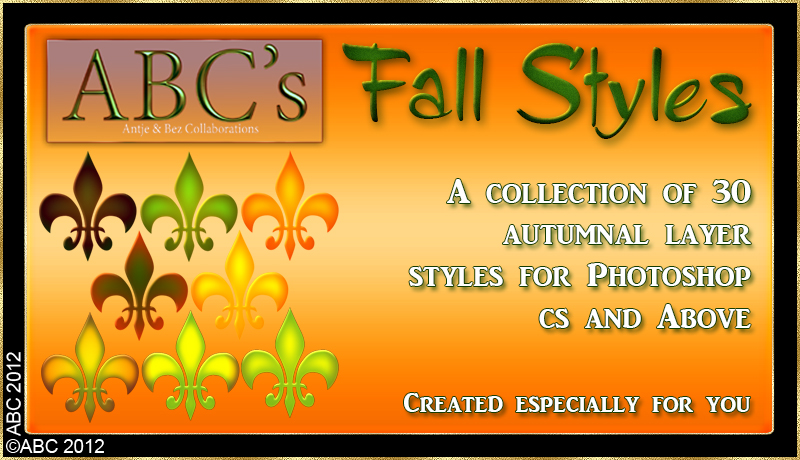ABC Fall Styles