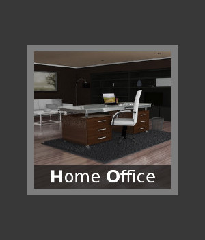 Home Office 3D Models TruForm