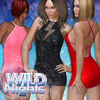 Wild Nights for Moonbeam 3D Figure Essentials Atenais
