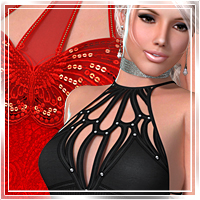 Vogue for Moonbeam II Clothing Romantic-3D