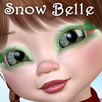 SnowBelle 3D Figure Essentials 3D Models JudibugDesigns