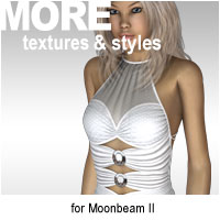 MORE Textures & Styles for Moonbeam II Clothing Themed motif