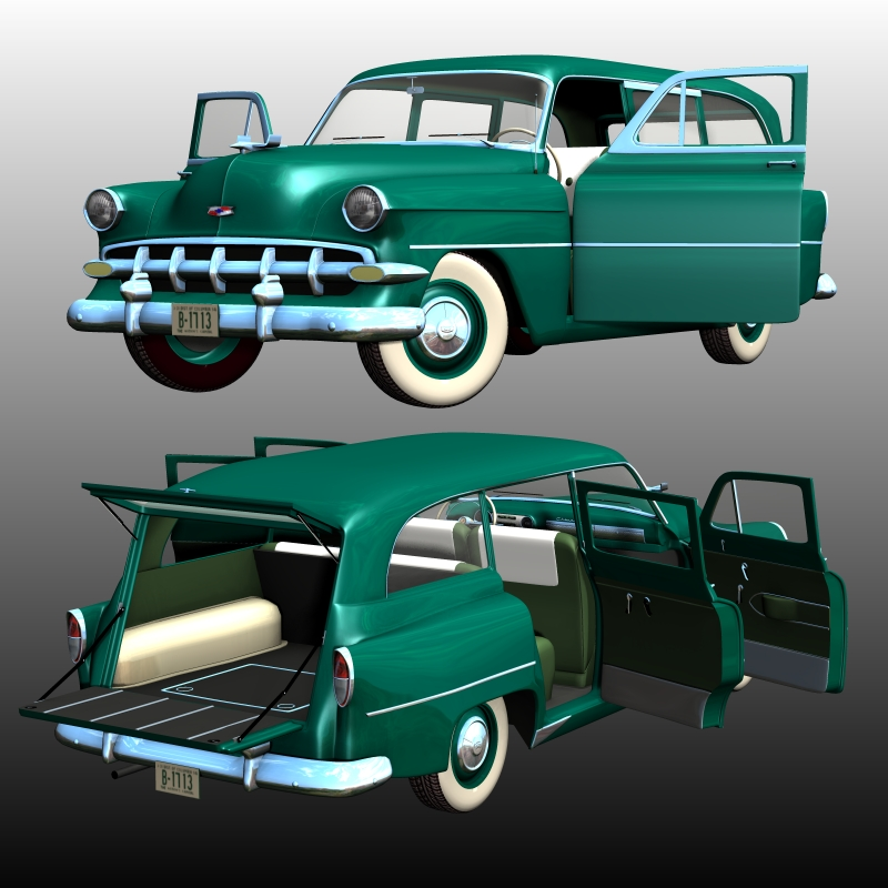 CHEVROLET 1954 STATION WAGON