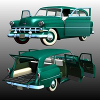 CHEVROLET 1954 STATION WAGON by Nationale7