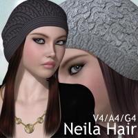 Neila Hair V4-A4-G4 Accessories Hair nikisatez