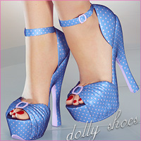 Dolly Shoes Clothing Footwear Themed lilflame