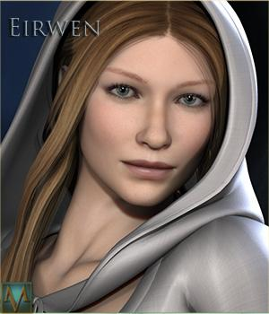 MRL Eirwen 3D Figure Essentials 3D Models Mihrelle