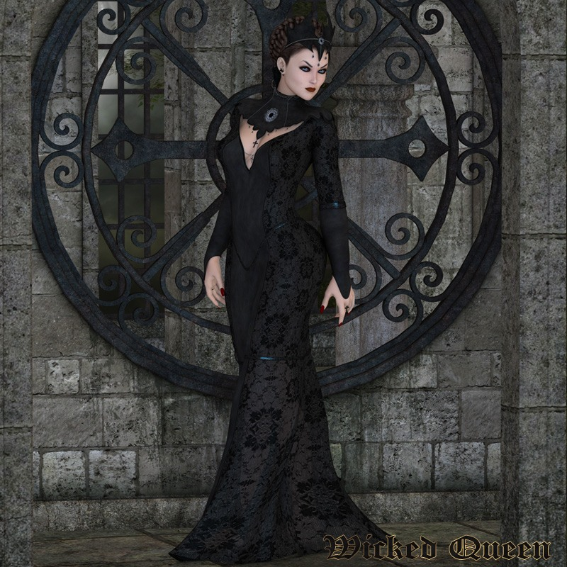 Wicked Queen Outfit V4