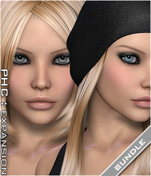 PHC Bundle: Blake & Neila hair Hair Themed P3D-Art
