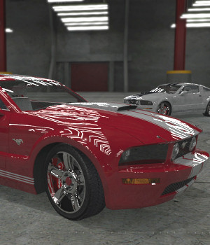 2005 Ford Mustang 3D Models DreamlandModels
