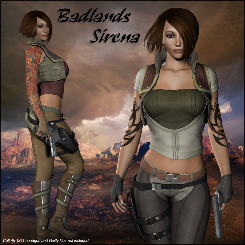 Badlands Sirena for V4 by RPublishing