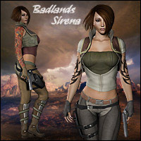 Badlands Sirena Clothing Themed Software RPublishing