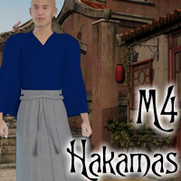 M4 Hakama 3D Figure Essentials Lyrra